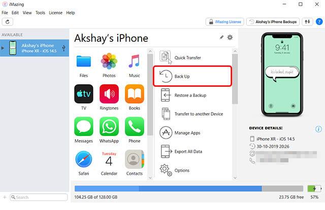 imazing iphone backup windows pc new