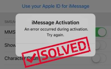 imessage waiting for activation - imessage not working fix