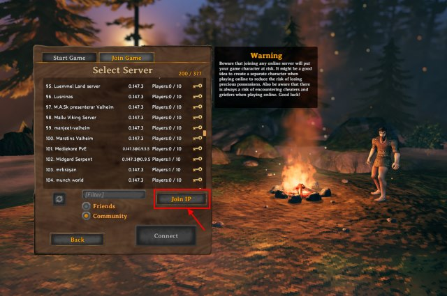 join ip - valheim dedicated server