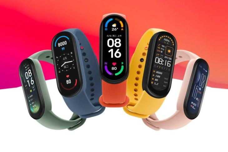 mi smart band 6 launched in China