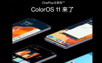 oneplus 9 series - colorOS 11
