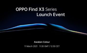 oppo find x3 series launch event date