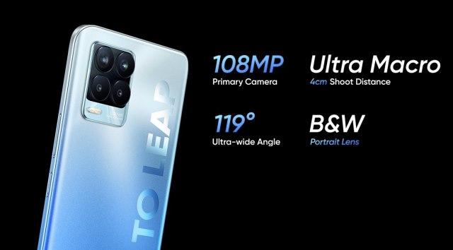 realme 8 pro cameras