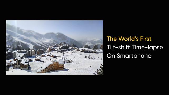 realme tilt-shift sample image