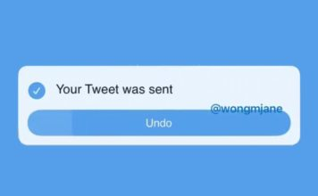 twitter undo send tweet button coming soon