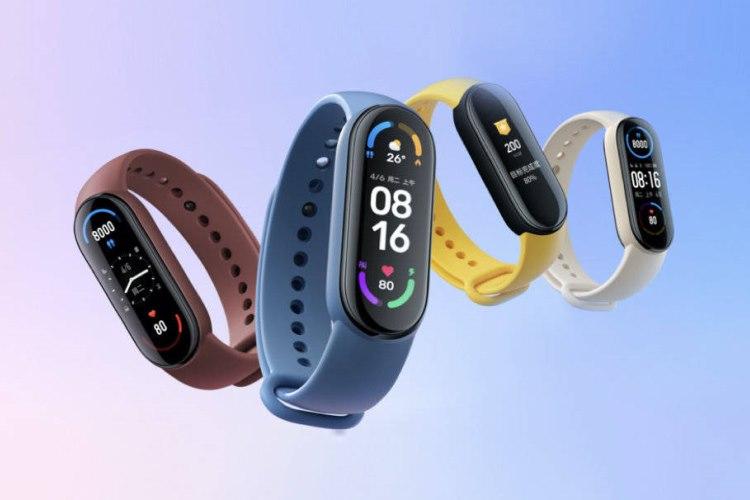 xiaomi launches mi smart band 6