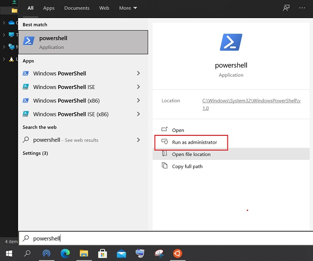 install linux apps gui on windows 10