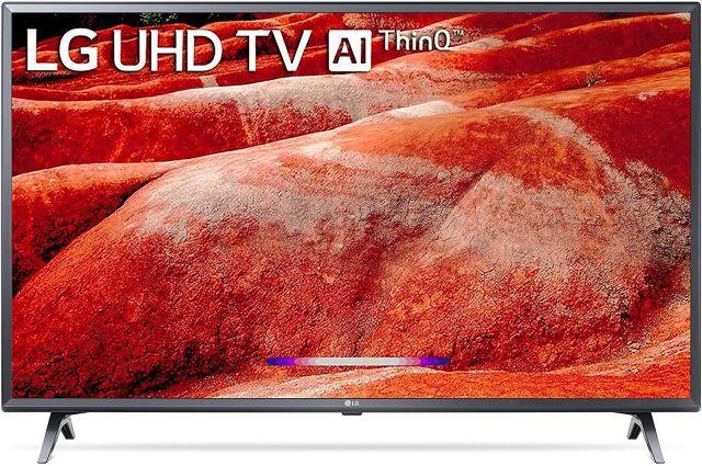 8. LG 43-inch 4K Smart TV