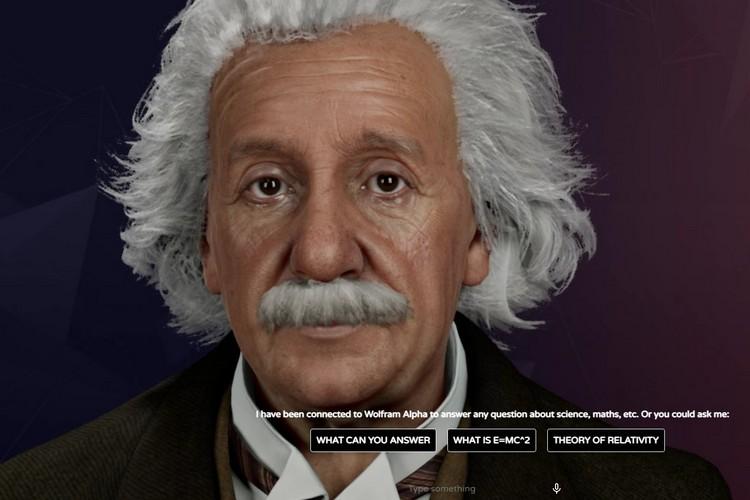 هذه نسخة مدعومة بالذكاء الاصطناعي من ألبرت أينشتاين ويمكنك الدردشة معها في الوقت الفعلي