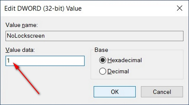 Hexadecimal DWORD value