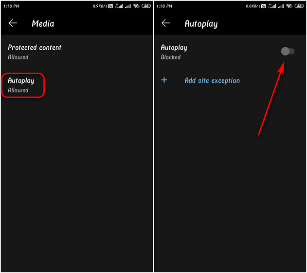 How to Disable Autoplay Videos on Chrome, Firefox and Edge