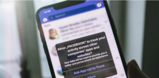 Facebook encourages users to allow tracking