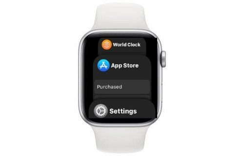 Force quit apps on Apple Watch