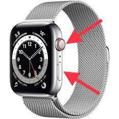 Force restart Apple Watch
