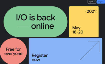 Google IO 2021 Scheduled for May 18 to 20