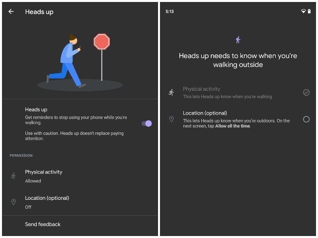 Google starts rolling out digital wellbeing Heads Up mode