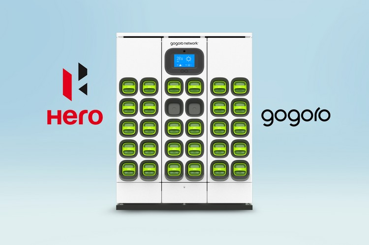 Hero Motocorp و Gogoro شريكان لبناء شبكة تبديل البطارية في الهند