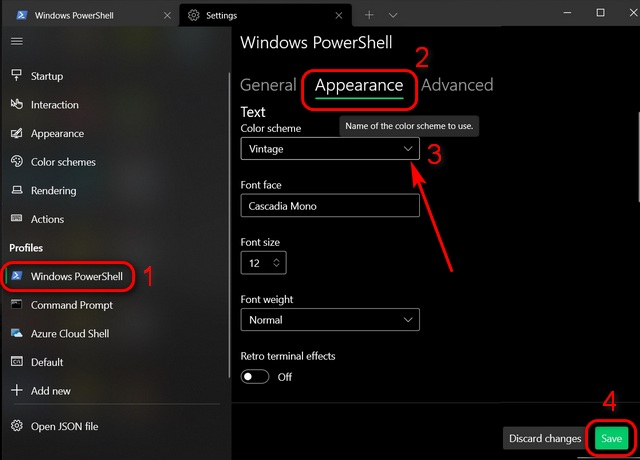 Customize Windows Terminal: Change Theme, Colors, Background Image