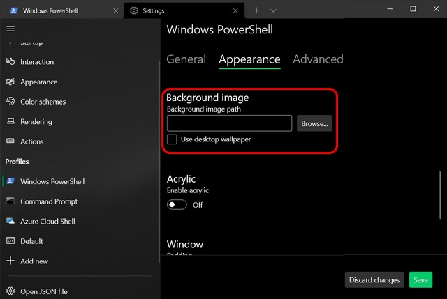 How to Customize Windows Terminal: Change Theme, Colors, Background Image and More