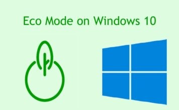How to Enable Eco Mode for Apps on Windows 10