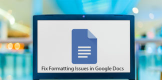 How to Fix Formatting Issues in Google Docs
