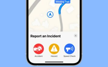 How to Report Traffic Accidents and Speed Checks in Apple Maps on iOS 14.5