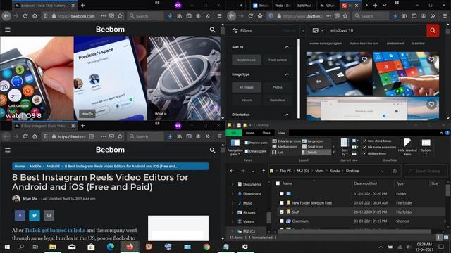 How to Split Your Screen in Windows 10 For Enhanced Multitasking