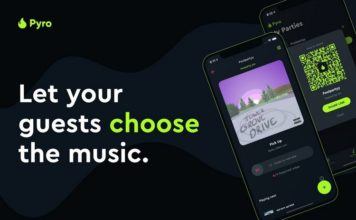 Pyro app for spotify parties