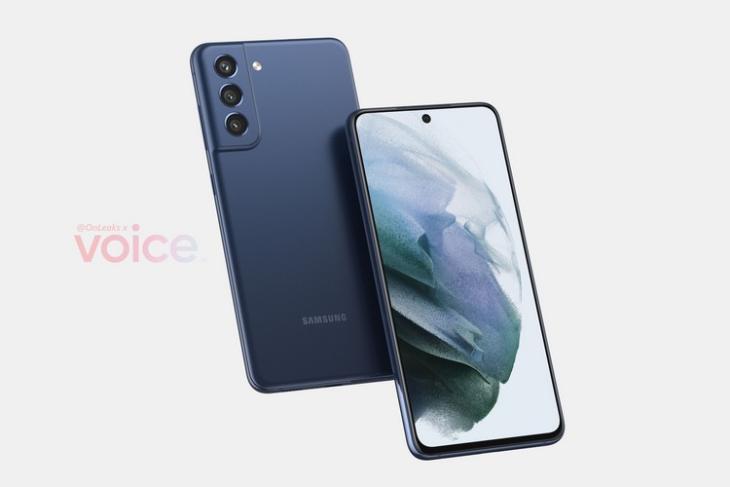 Samsung Galaxy S21 FE 5G design leaked