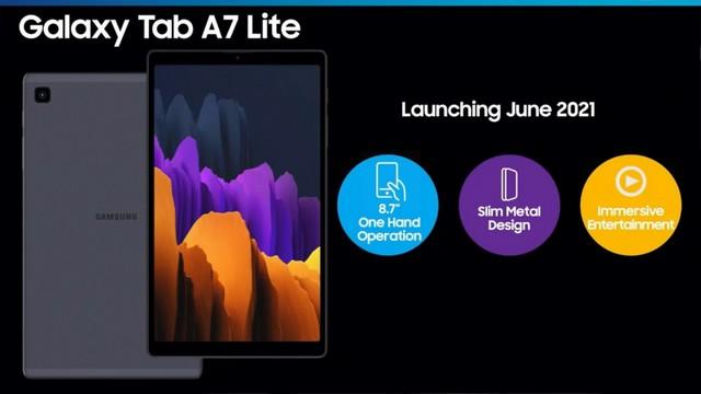 Samsung Galaxy Tab S7 lite 5G leaked