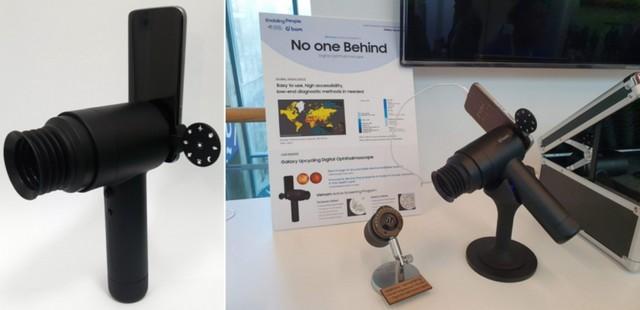 Samsung repurposes old galaxy phones into eyecare tools