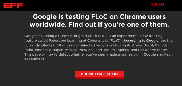 When is FLoC Rolling Out to Users?