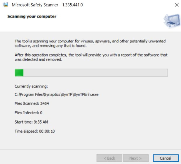 What is Microsoft Safety Scanner