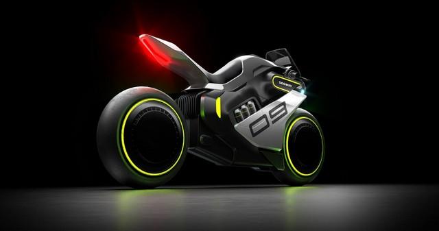 Segway Apex H2 hydrogen bike announced