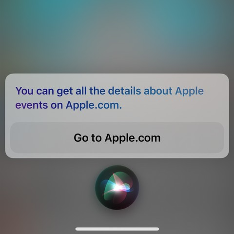 Siri Reveals That next Apple Event Will Be Held on April 20