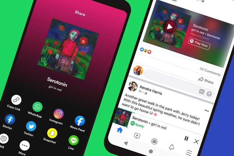 New Spotify Mini-Player in Facebook Lets You Stream Songs While Browsing the News Feed
