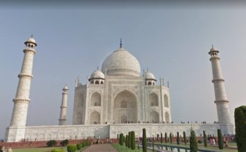 Google Taj Mahal virtual tour