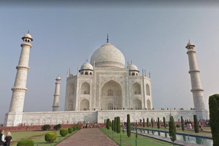 Google Taj Mahal virtual tour
