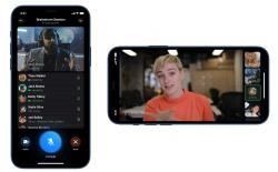 Telegram group video calling