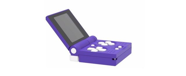 The FunKey S is a tiny gameboy-style gaming console