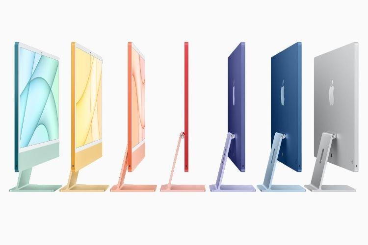 Apple iMac Redesigned with a Thinner Build, M1 Chip & Vibrant Colors