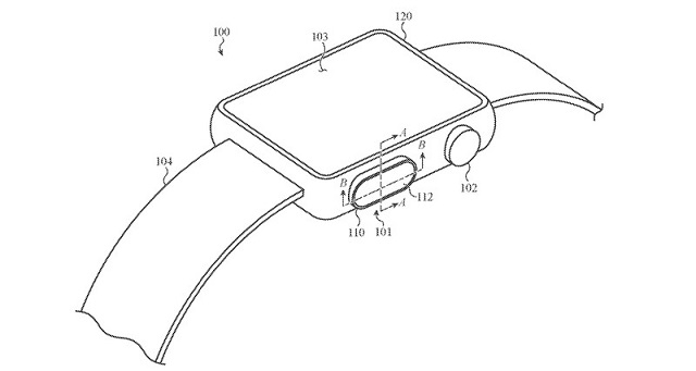 Touch ID patent for Apple Watch