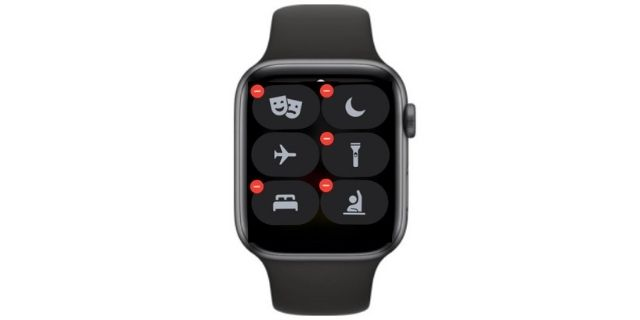Support for Complications in Control Center - watchOS 8 features