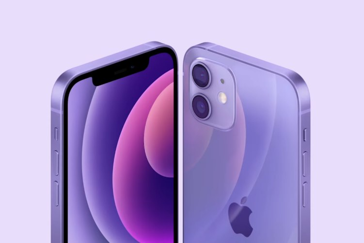 apple iphone 12 purple color