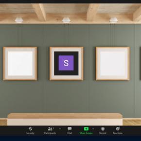 art gallery zoom