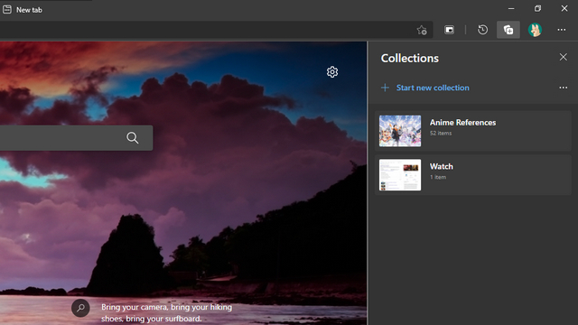 collections ms edge
