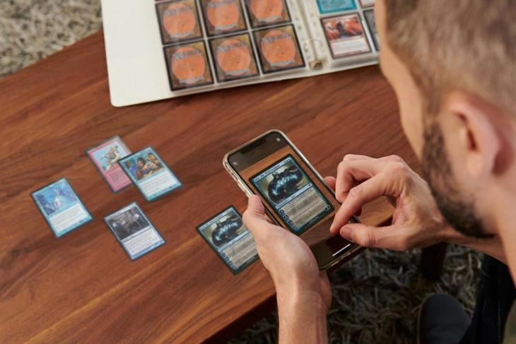 eBay new trading card scanning feature