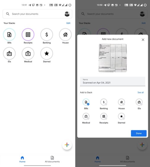 Google Stack Is a CamScanner Alternative That Lets You Scan and Organize Documents