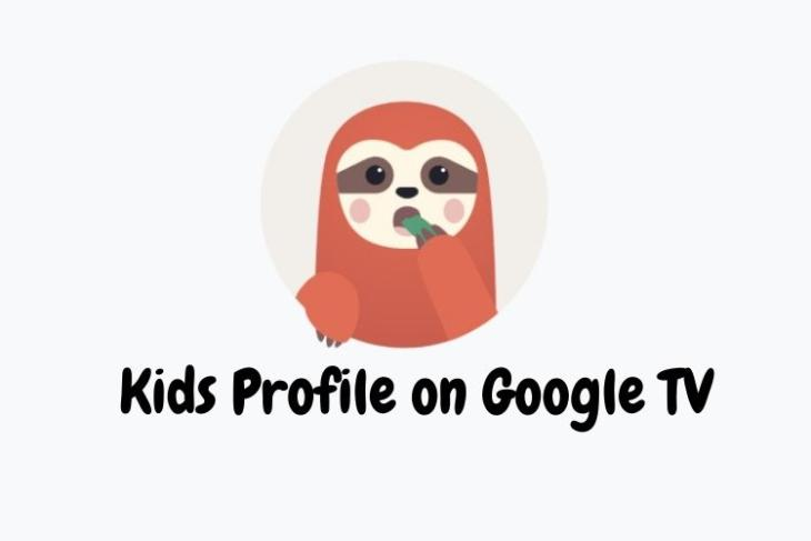 how to set up kids profile on Google TV