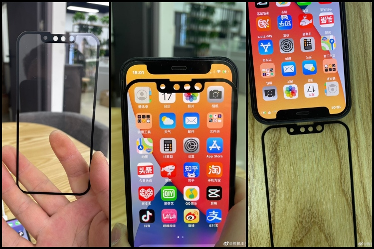 The Upcoming iPhone 13 with Smaller Notch Shown off in Leaked Images
